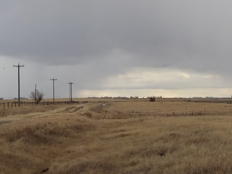stormy day in February
