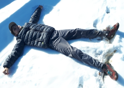snow angels in September