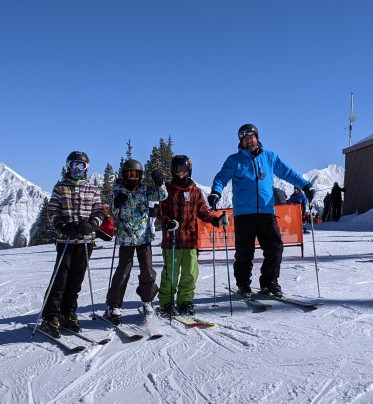 The last day of skiing in 2020
