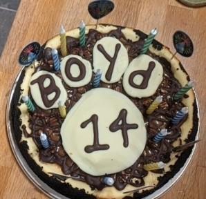 Happy birthday Boyd